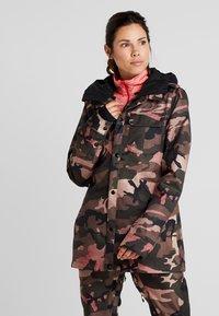 Volcom - KUMA JACKET - Snowboard jacket - faded army - 0