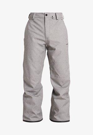 EASTERN INS PANT - Täckbyxor - heather grey