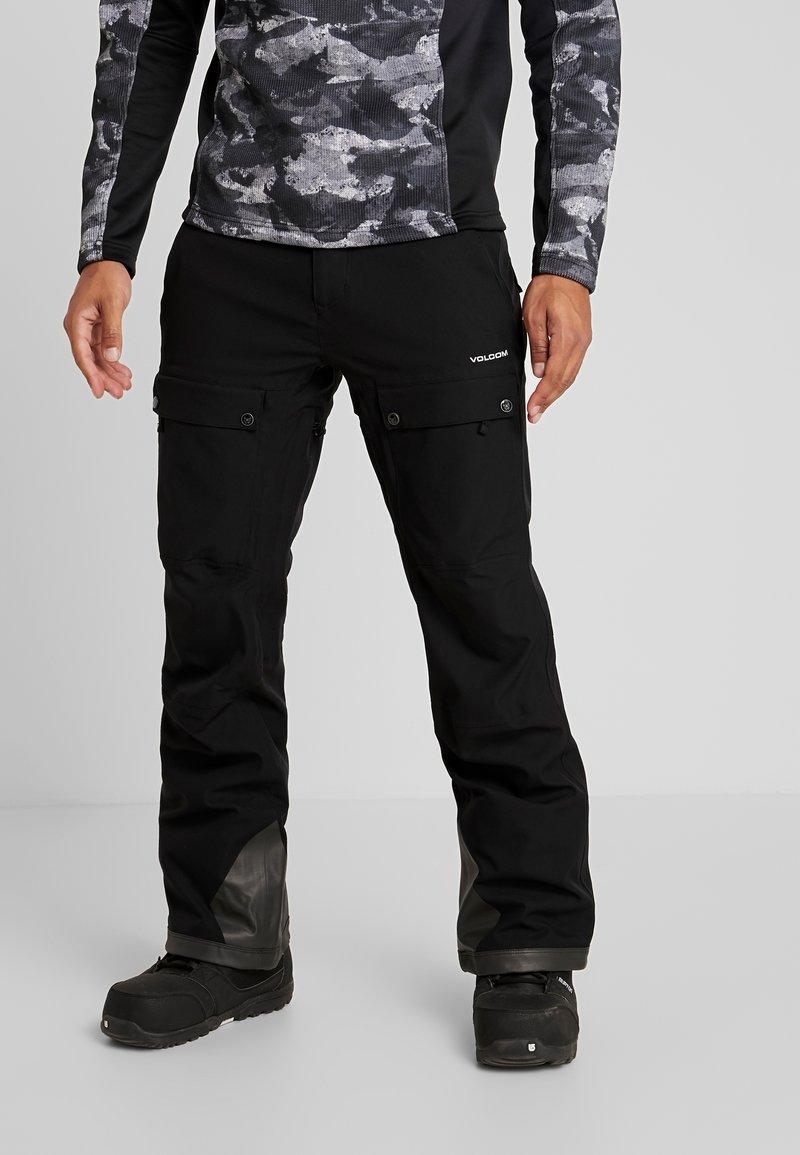Volcom - PAT MOORE PANT - Snow pants - black