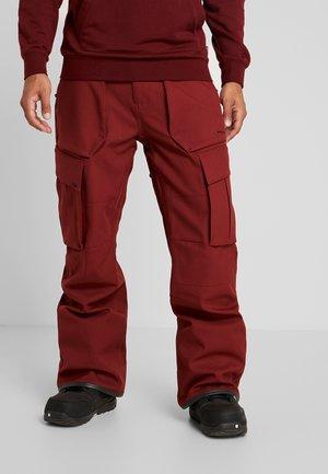 TWENTY ONE PANT - Skibroek - burnt red