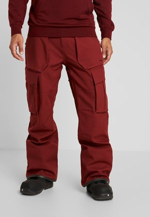TWENTY ONE PANT - Talvihousut - burnt red