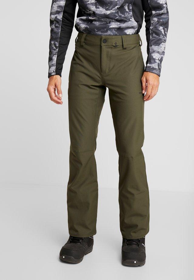 KLOCKER TIGHT PANT - Snow pants - forest