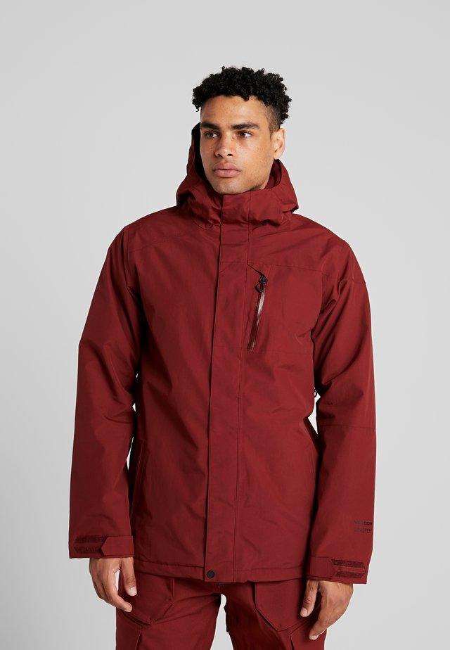 Snowboard jacket - burnt red