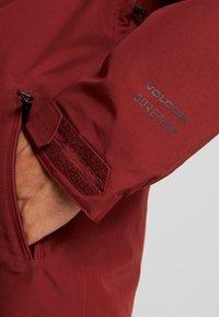 Volcom - Snowboard jacket - burnt red - 5