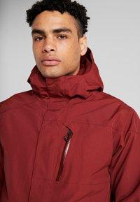 Volcom - Snowboard jacket - burnt red - 4