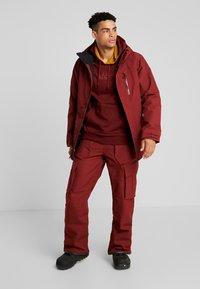 Volcom - Snowboard jacket - burnt red - 1