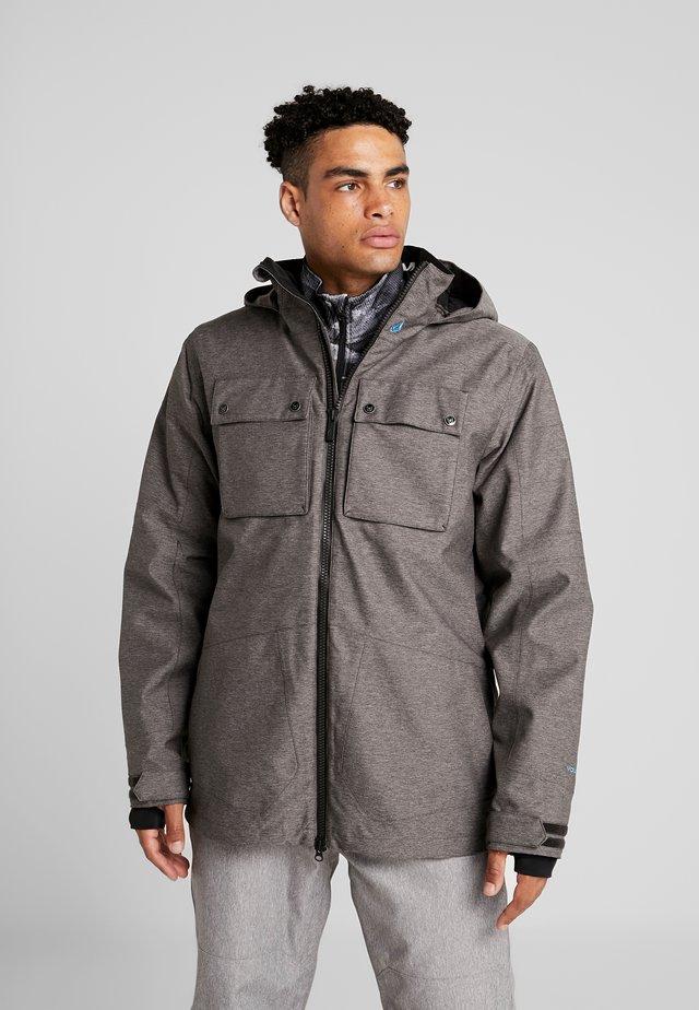 PAT MOORE 2-IN-1  - Snowboard jacket - black