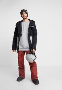 Volcom - SCORTCH JACKET - Snowboardjacka - heather grey - 1