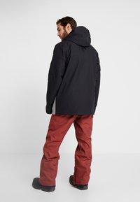 Volcom - SCORTCH JACKET - Snowboardjacka - heather grey - 2