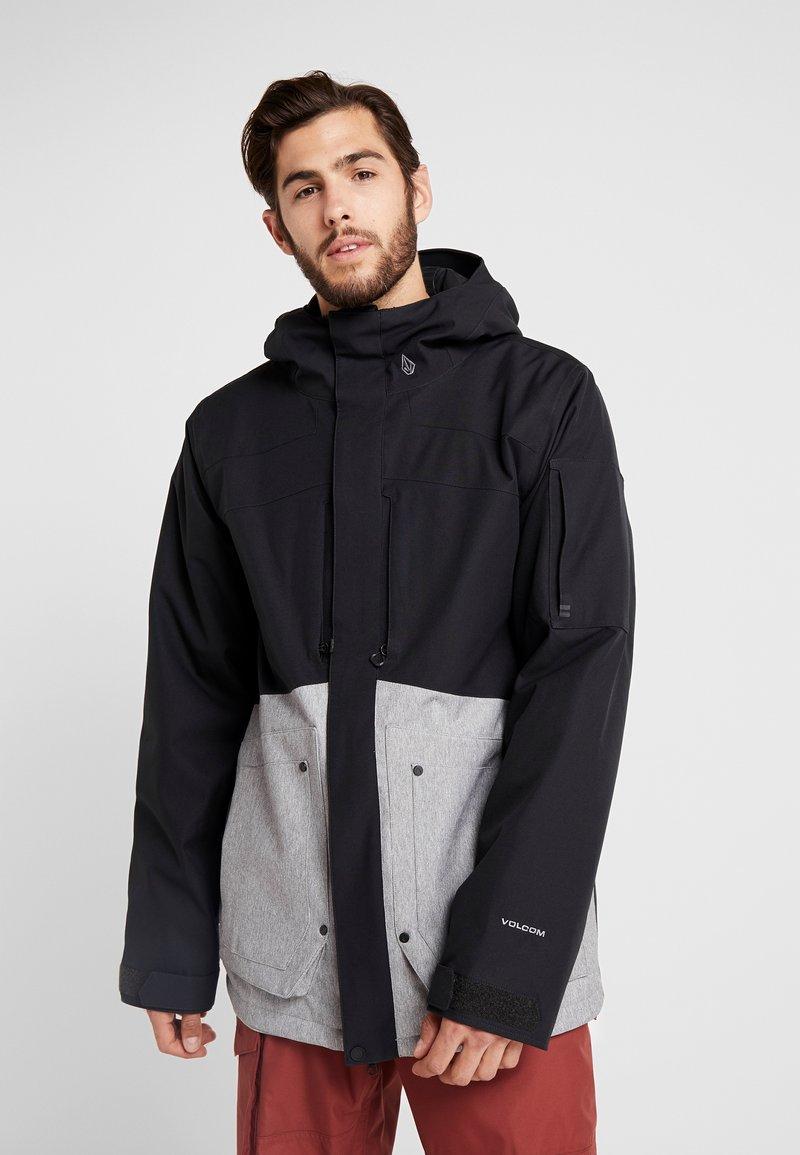 Volcom - SCORTCH JACKET - Snowboardjacka - heather grey