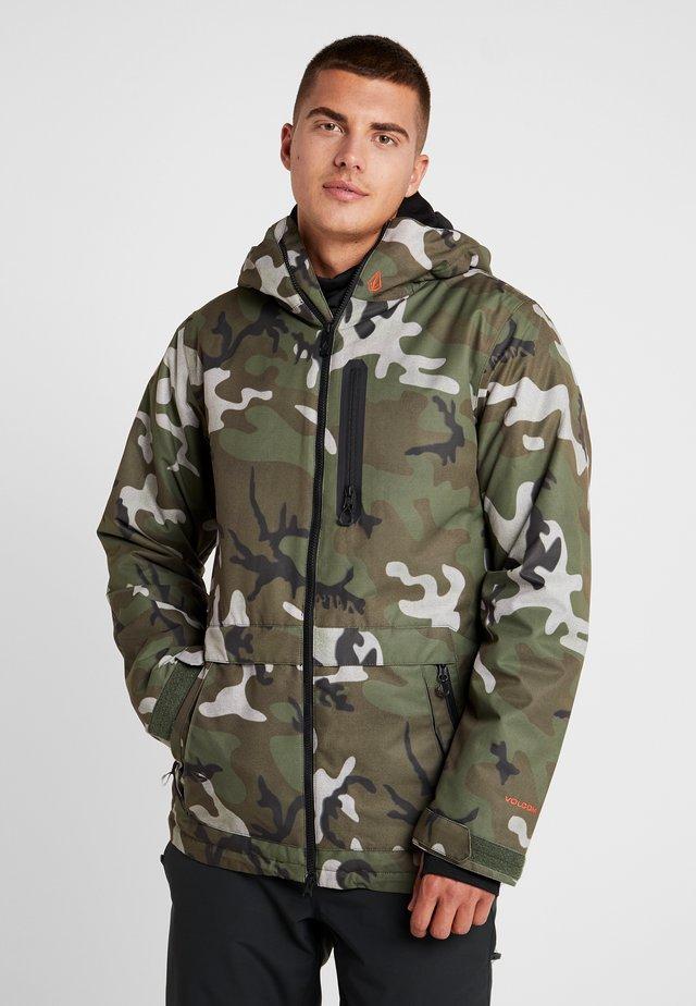DEADLYSTONES  - Snowboard jacket - green