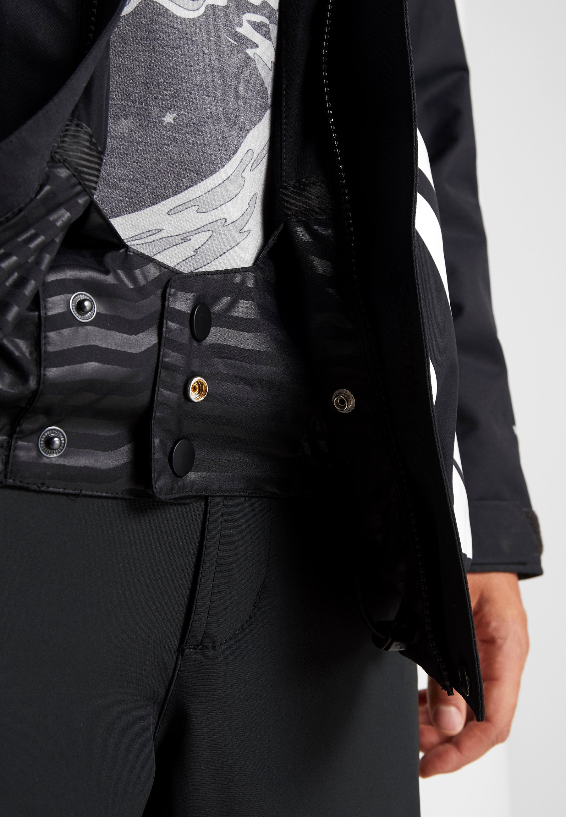 Volcom 17forty Jacket - Snowboardjacka Black
