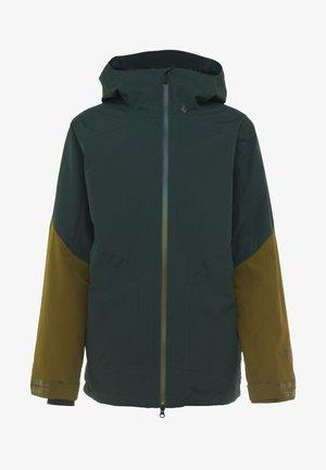 RESIN - Snowboardjas - dark green