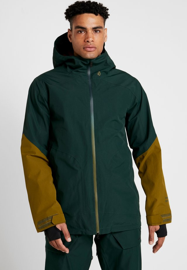 RESIN - Snowboard jacket - dark green