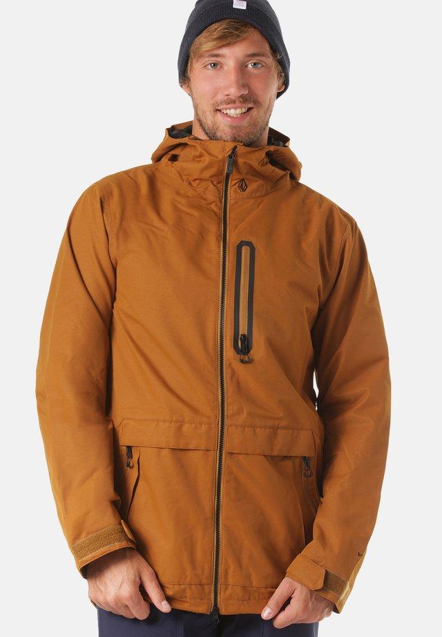 Snowboard jacket - brown