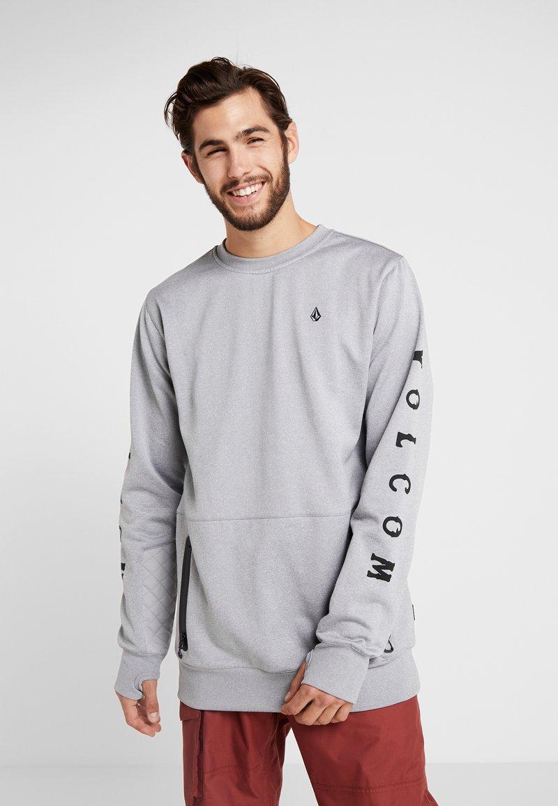 Volcom - PAT MOORE - Fleece jumper - heather grey