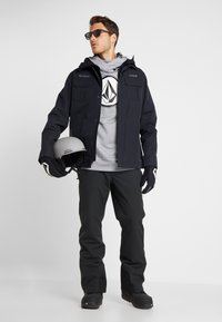 Volcom - HYDRO RIDING HOODIE - Jersey con capucha - heather grey - 1