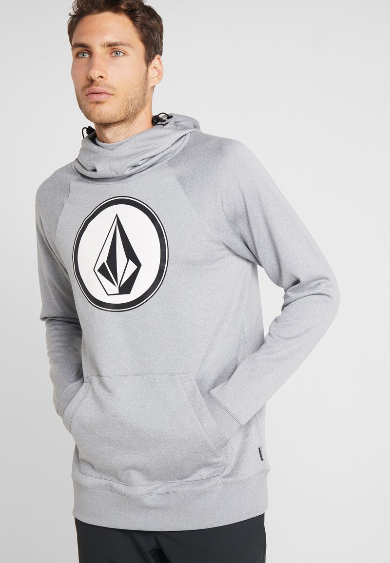 Volcom - HYDRO RIDING HOODIE - Jersey con capucha - heather grey