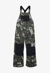 Volcom - BARKLEY OVERALL - Snow pants - green - 3