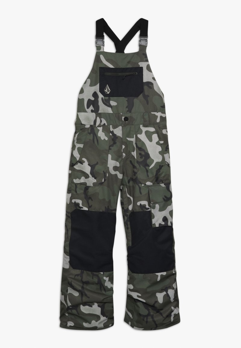 Volcom - BARKLEY OVERALL - Snow pants - green