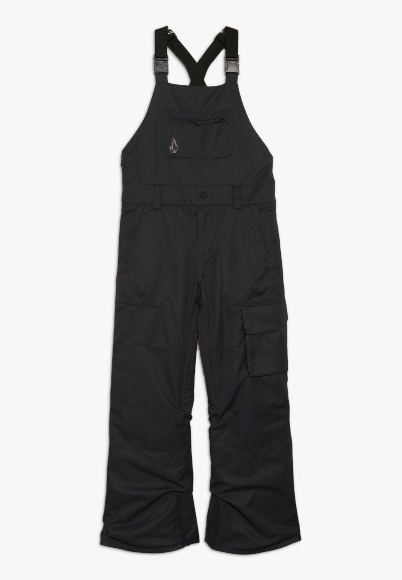 Volcom - BARKLEY OVERALL - Snow pants - black