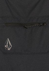 Volcom - BARKLEY OVERALL - Snow pants - black - 2