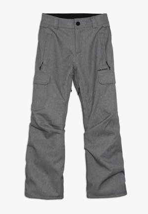 CARGO PANT - Pantalón de nieve - heather grey