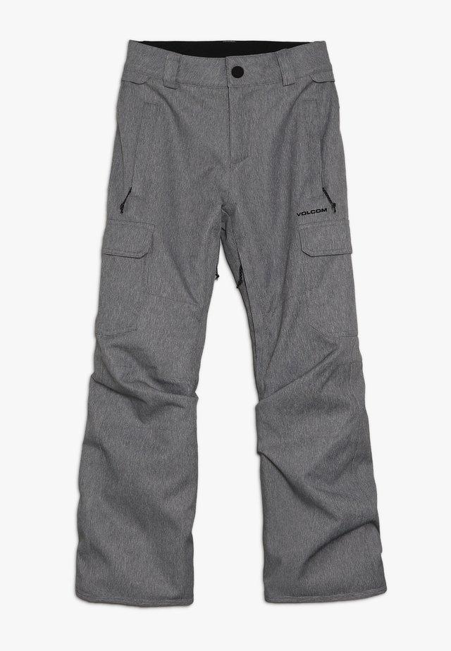 CARGO PANT - Snow pants - heather grey