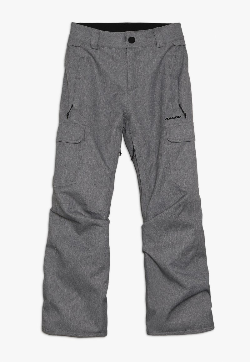 Volcom - CARGO PANT - Täckbyxor - heather grey
