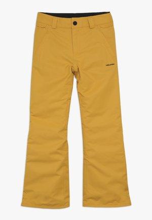 FREAKIN SNOW CHINO - Pantaloni da neve - resin gold