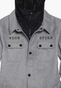 Volcom - NEOLITHIC JACKET - Kurtka snowboardowa - heather grey - 4