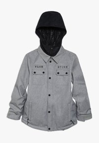 Volcom - NEOLITHIC JACKET - Kurtka snowboardowa - heather grey - 0