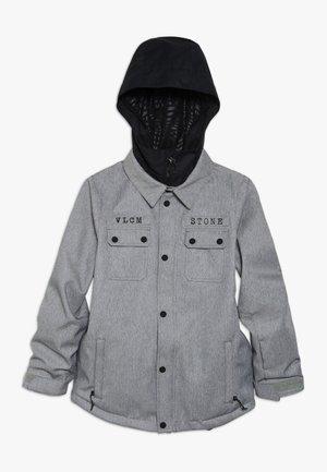 NEOLITHIC JACKET - Kurtka snowboardowa - heather grey