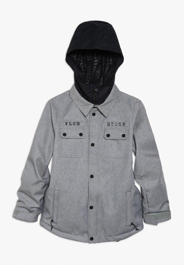 NEOLITHIC JACKET - Snowboardová bunda - heather grey