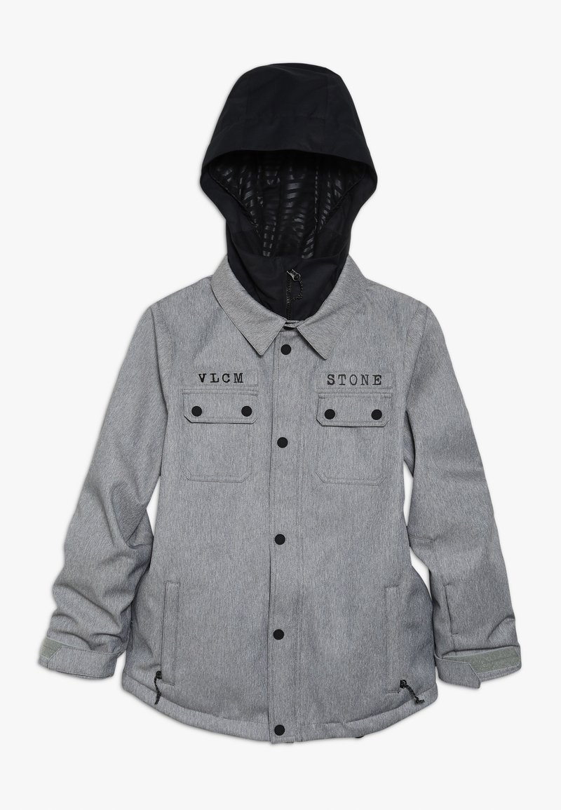 Volcom - NEOLITHIC JACKET - Kurtka snowboardowa - heather grey