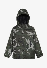 Volcom - RIPLEY INS JACKET - Snowboardjacka - green/black - 3