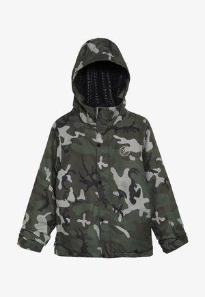RIPLEY INS JACKET - Snowboard jacket - green/black