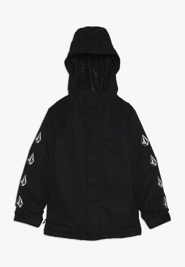 RIPLEY INS JACKET - Snowboardová bunda - black