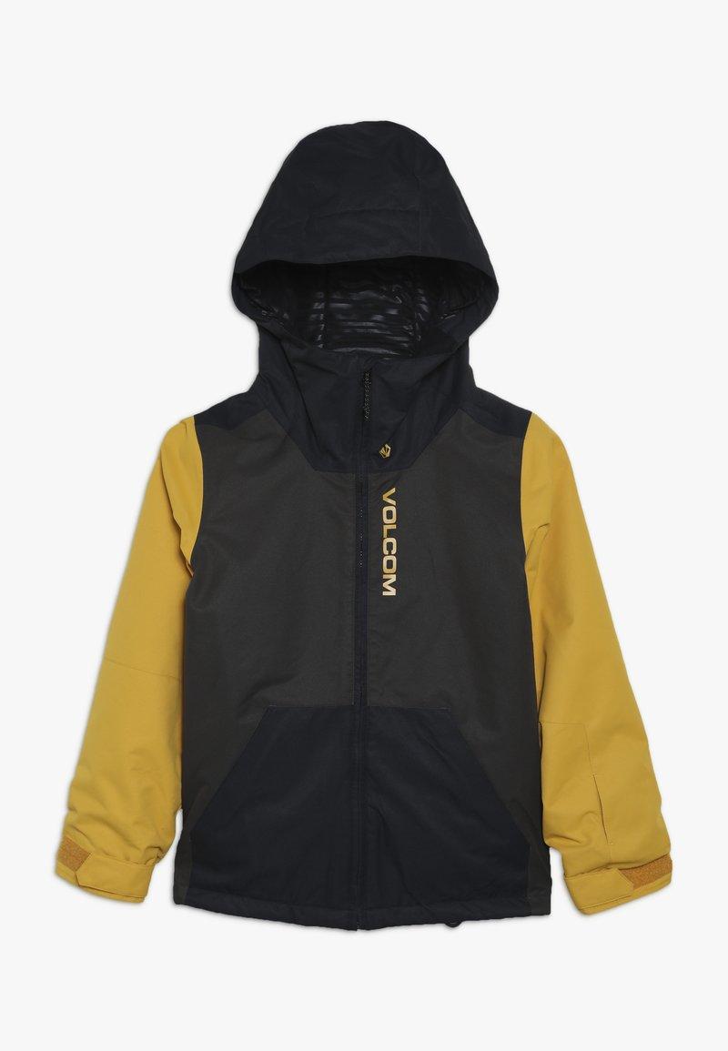 Volcom - VERNON JACKET - Snowboardjas - vintage black