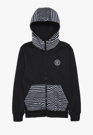 GROHMAN - Fleecová bunda - black