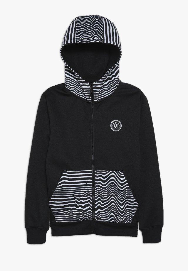 GROHMAN - Fleece jacket - black