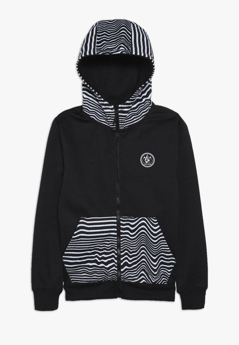Volcom - GROHMAN - Fleece jacket - black
