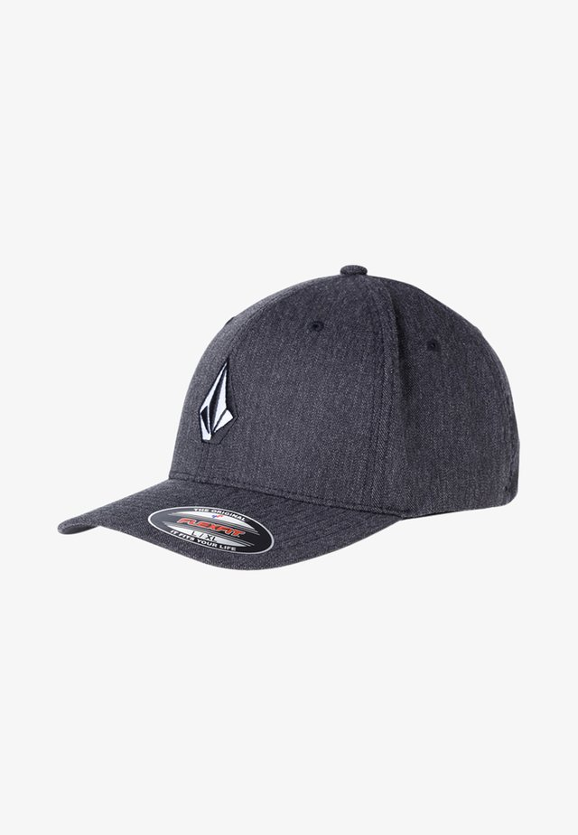 Cap - mottled dark grey