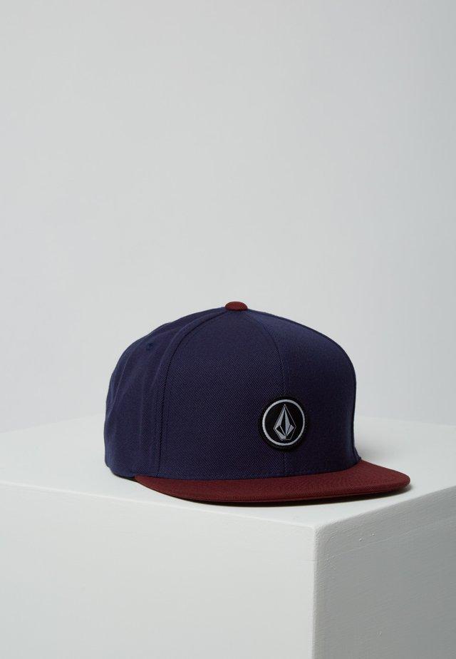 QUARTER - Cap - dark red