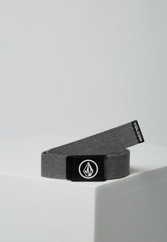 Belt - charcoal heather