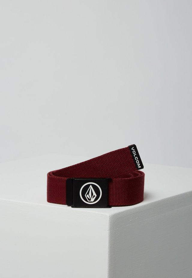 Belt - cabernet