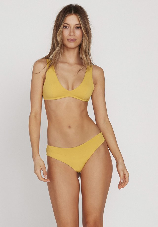 SIMPLY SEAM CHEEKY - Bikini bottoms - yellow