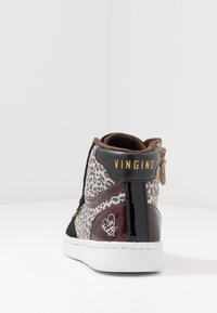 Vingino - TESSA - Høye joggesko - black - 4
