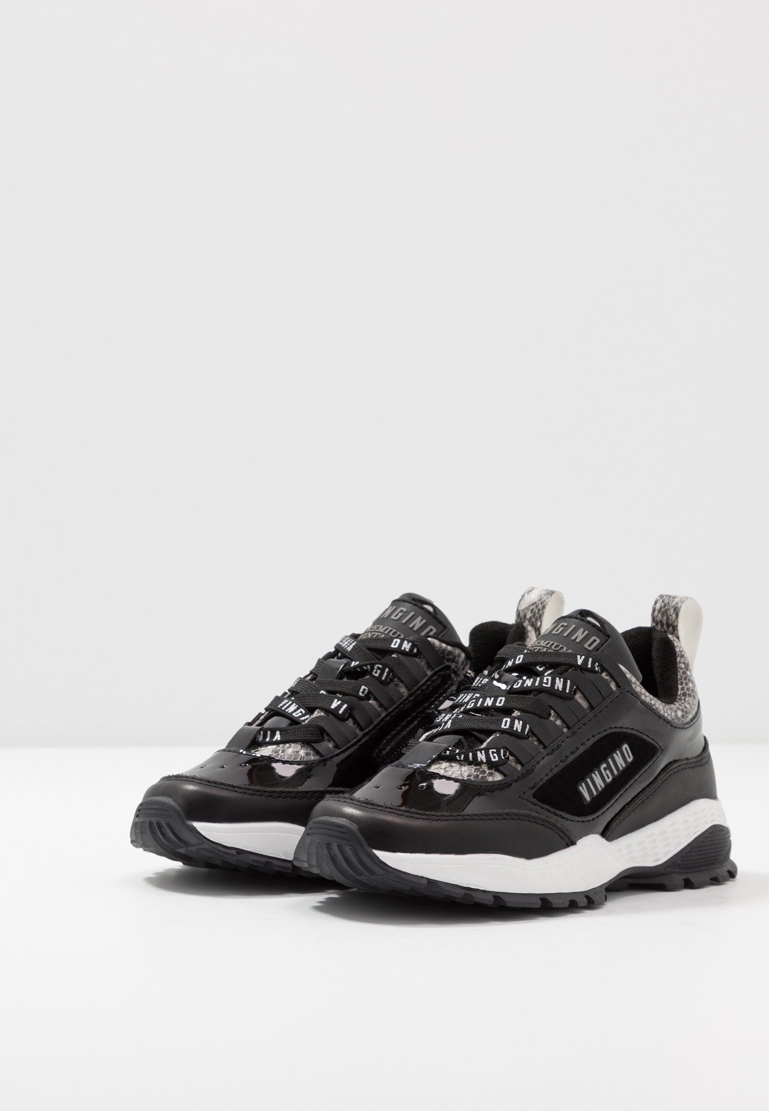 Vingino FENNA - Sneakersy niskie - multicolor/grey/black