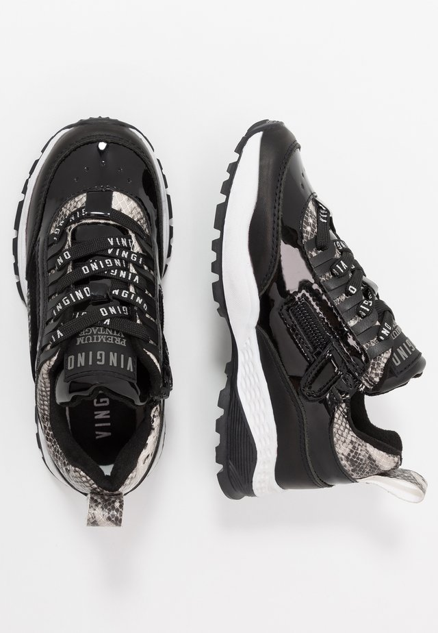 FENNA - Sneakers laag - multicolor/grey/black